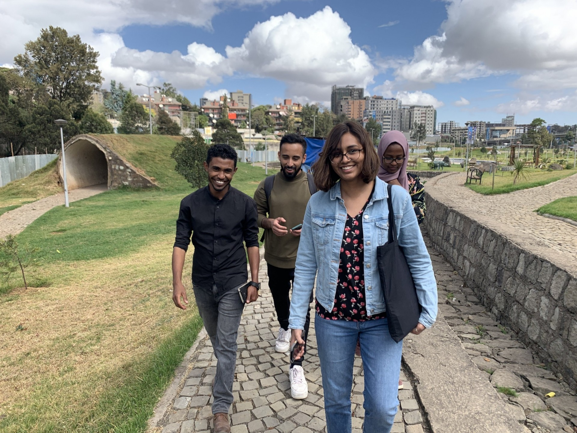 Students explore the rivers of Addis Abbaba
