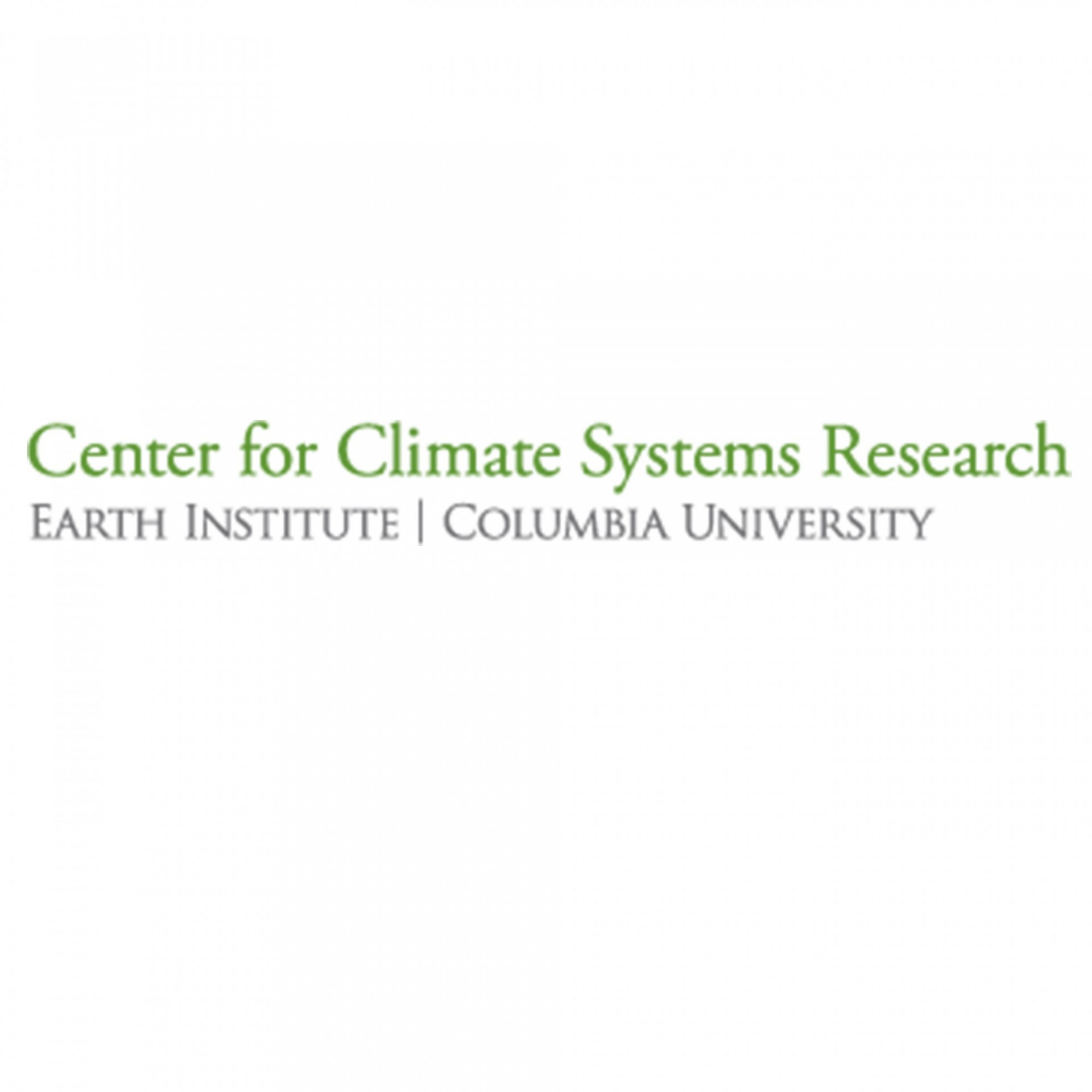 Center for Climate Systems Research